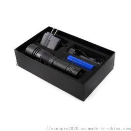 铝合金手电筒 LED强光远射户外防水手电筒