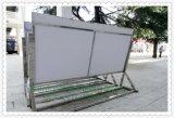 不锈钢广告牌水牌L脚展示架指示牌欢迎牌立式导向牌