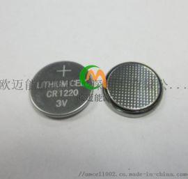 耐高低温CR1220纽扣电池-40℃~+85℃