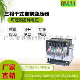 三相自耦变压器 佛山宝英10KVA自耦变压器