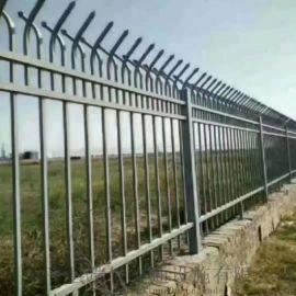 厂房围栏,锌钢围栏,庭院铁艺围栏供应