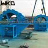 河道山沙採洗設備 雙槽風火輪洗砂機 輪式洗砂機型號