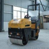 捷克供應1.5噸液壓雙驅壓路機 小型座駕壓路機廠家