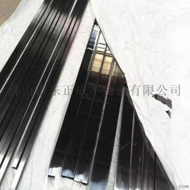 河南黑钛金201不锈钢方管50*50*1.2无指纹