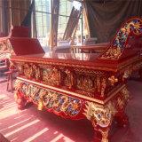紅木木雕供桌廠家,木雕元寶桌生產廠家,供桌定做廠家