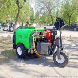农业补贴果园打药机 果园弥雾打药机操作视频