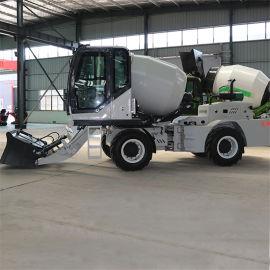建筑工地水泥搅拌车 中小型商混自上料搅拌车