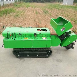 履带式旋耕田园管理机机 自走式回填田园管理机