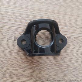 黑色异形可定制聚丙烯管夹尼龙管夹塑料固定夹