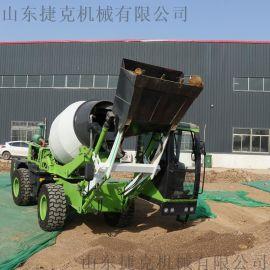 多功能自动上料搅拌车 水泥罐车 水泥搅拌车捷克厂家