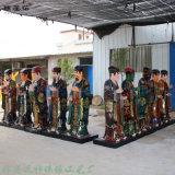 牛头马面塑像厂家 十殿阎王神像 十殿阎罗佛像雕塑