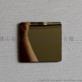 上海304张浦不锈钢镜面板电镀钛金行情