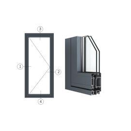 廣東興發鋁材創高AL5418A|B系列外平開門