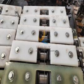 江苏输送机链条耐磨刮板 高分子刮板定制厂家