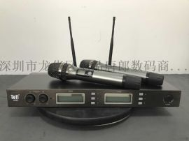 BBS款专业舞台KTV无线话筒一拖二麦克风
