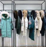 艾零度19冬原創設計師品牌折扣女裝大毛領羽絨服外套