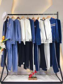 2019新品女装原厂原标时尚套装品牌尾货进货