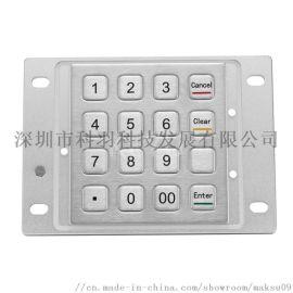 KY3688C不锈钢加密键盘(PCI 3.0)