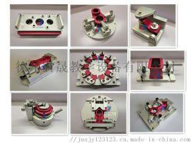 夹具模型 君晟铝制机床夹具拆装模型 机床夹具模型