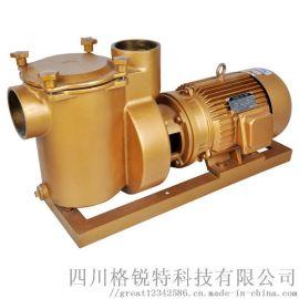 淼机灵15HP铜泵游泳池水处理设备循环水泵