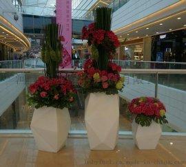 和业 玻璃钢定制花瓶 异形花瓶 玻璃钢花瓶