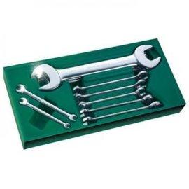 陕西西安世达工具10件套双开口及两用扳手09904