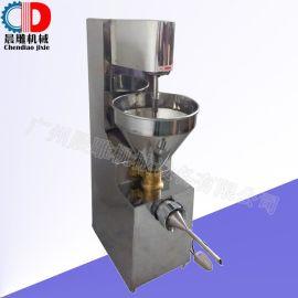 不锈钢灌肠机 腊肠灌肠机  可制香肠 红肠