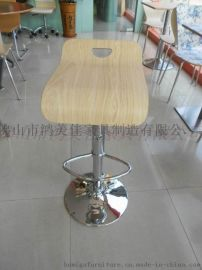 弯木吧椅供应商,广东鸿美佳厂家批发价格供应弯木吧椅