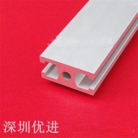 工业铝型材国标1530门框铝合金型材切割加工边框门框1530G铝型材