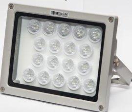监控白光灯 照车牌辅助灯 监控LED补光灯 100米远距离