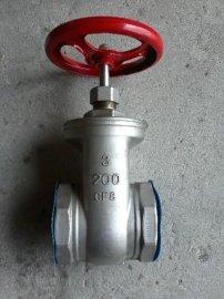 Z15W不锈钢丝扣闸阀