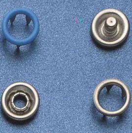 10mm喷漆面五爪扣/金属钮扣/金属制品/服装辅料