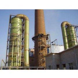 玻璃钢烧结锅炉脱硫塔 隧道窑砖厂脱硫塔效率