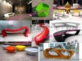 厂家供应 各种玻璃钢休闲创意椅QQ椅学校绿道公园小区广场休闲椅