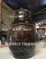 不腐金身缸 和尚坐化缸 陶瓷坐化缸生产厂家