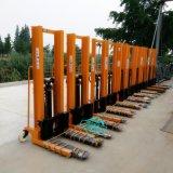 廠家現貨供應手動液壓堆高車叉貨升降車物料舉升機1噸1.6米人力叉車