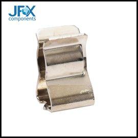 黄铜镀锡保险丝夹单体保险丝管面板安装保险丝管夹