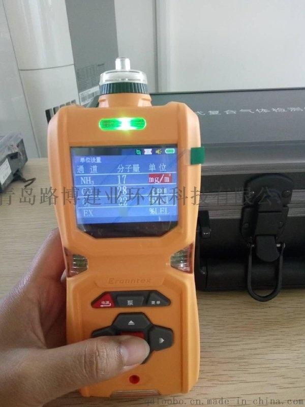 国产的能测六种气体的检测仪