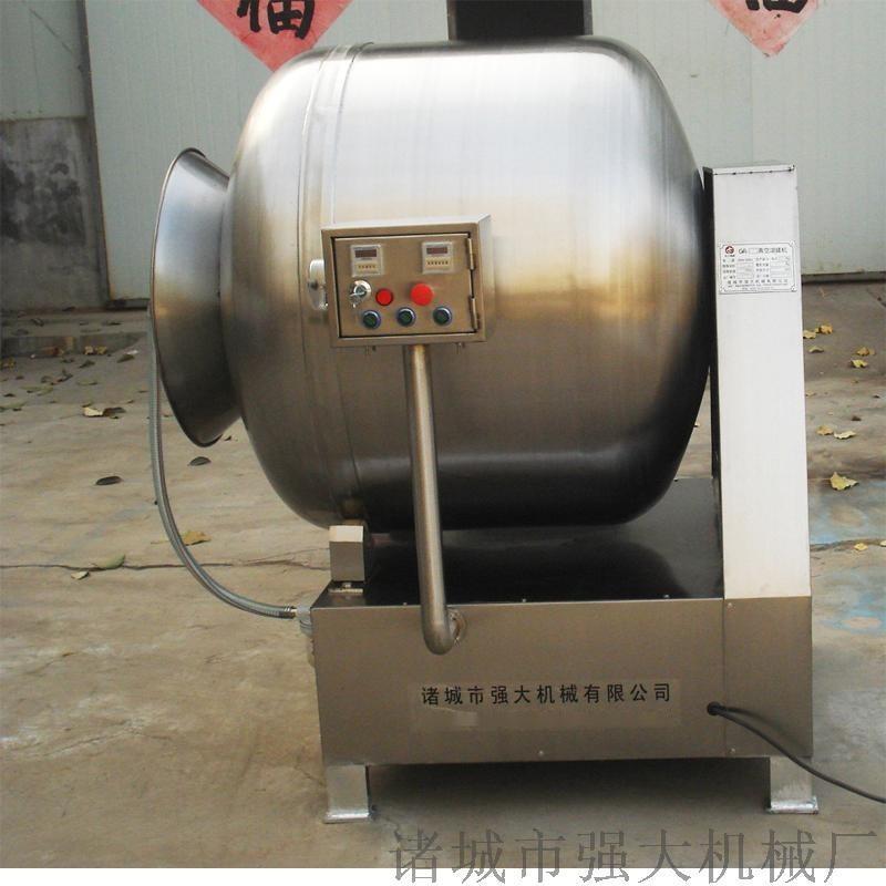 强大机械出售肉制品真空滚揉机
