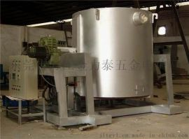 PID智能空温熔铝炉 可倾斜自动倒铝液式熔化炉
