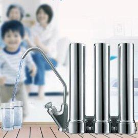 不锈钢HIS-3台下式三级直饮机净水器即开即饮英国进口滤芯