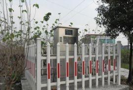 四川泸州PVC围栏 木纹色护栏