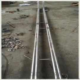 石灰粉链式提升机耐高温 陶土管链式输送机