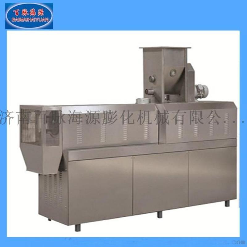 节能型双螺杆谷物膨化机 多功能膨化食品膨化机