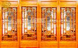 雲南實木門窗廠家,茶樓仿古門窗定製安裝