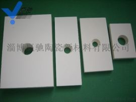 四川耐磨陶瓷衬板煤矿电厂溜槽用耐磨陶瓷板氧化铝瓷板