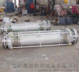 不鏽鋼波紋補償器大(小)拉杆補償器矩形補償器廠家批發就到鹽山鑫涌管道