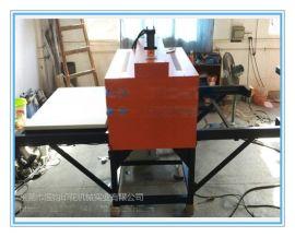 液压双工位升华转印机100*120 油压双工位服装烫画机100*120 印花转印机
