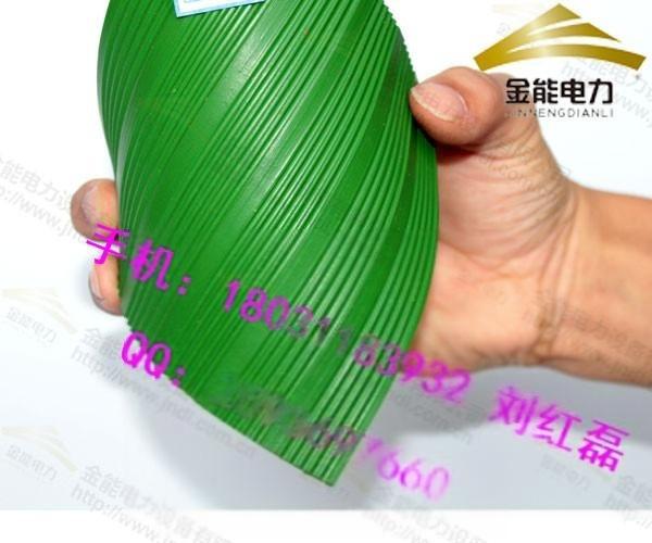 金能供应大量**绝缘地胶 常规绿色8mm平面绝缘胶板报价