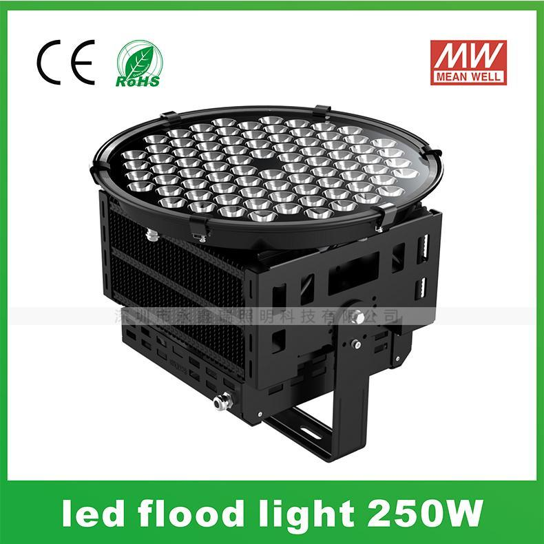 500W投射灯厂家 小角度LED集鱼灯 码头投光灯